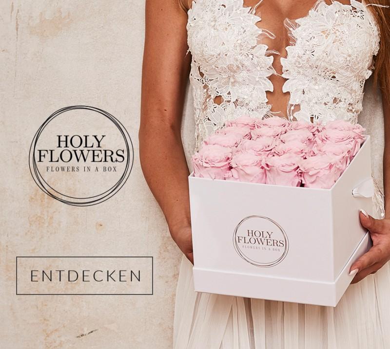 Premium Rosenbox Online Kaufen Holy Flowers