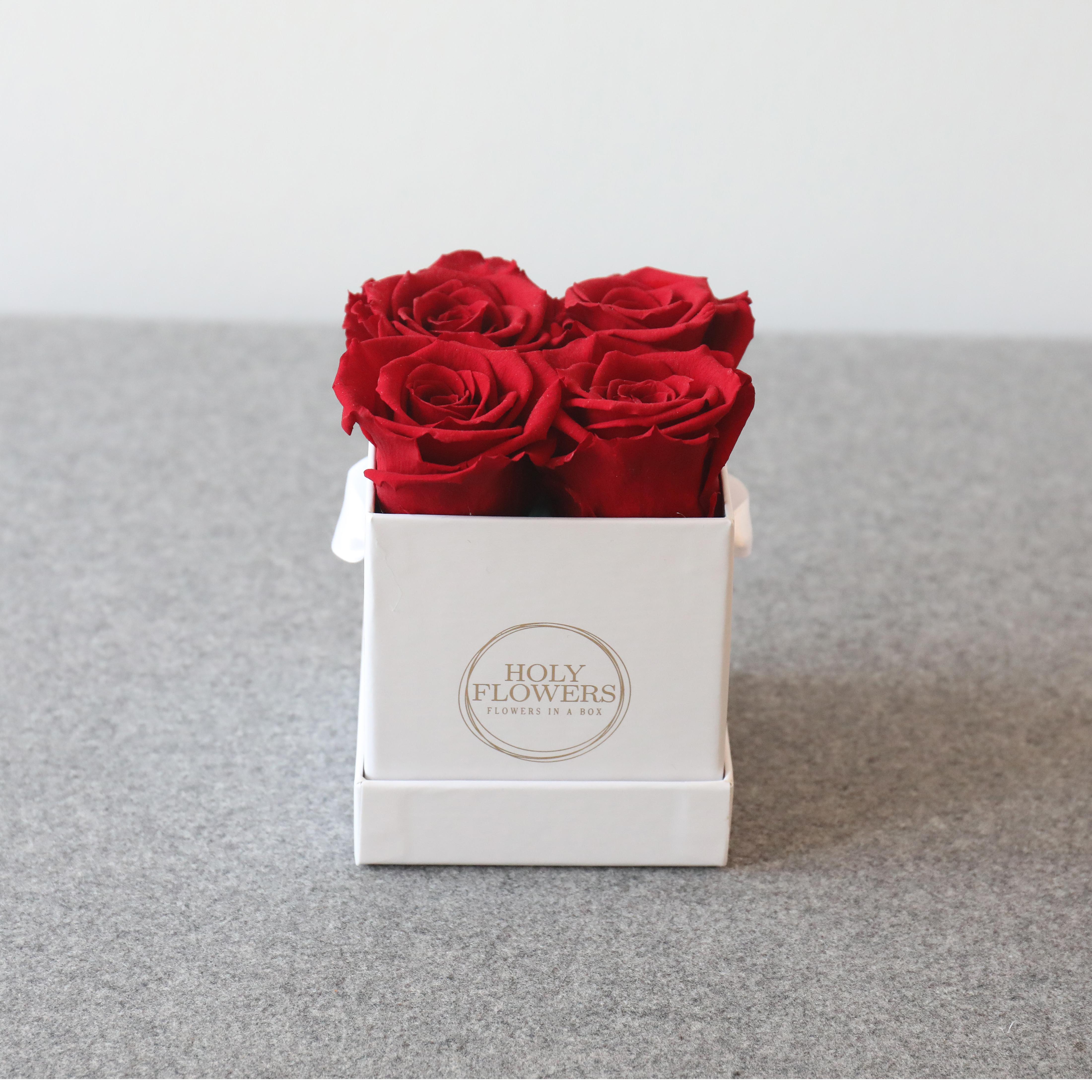 valentinstag besonderer anlass blumenboxen holy flowers rosen in der box exklusive. Black Bedroom Furniture Sets. Home Design Ideas